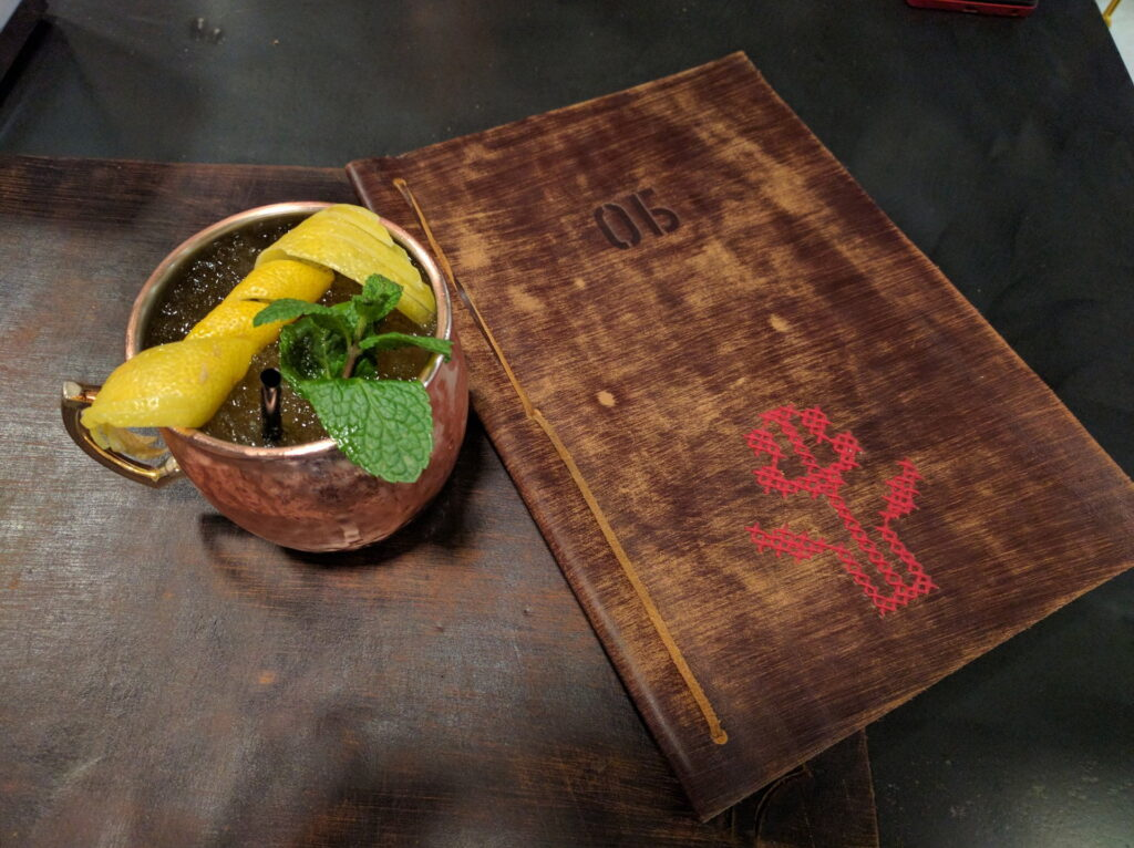 Kyiv Mule Cocktail