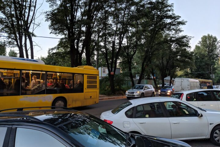 Bus in Kyiv