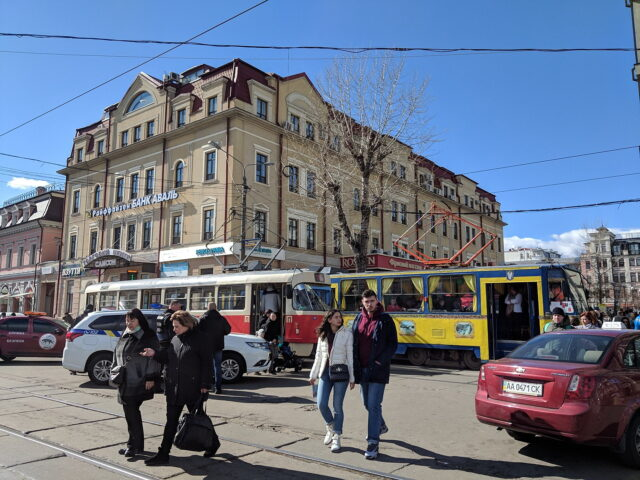 Trams in Kyiv