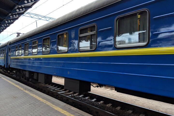 Ukrainian Railways Train