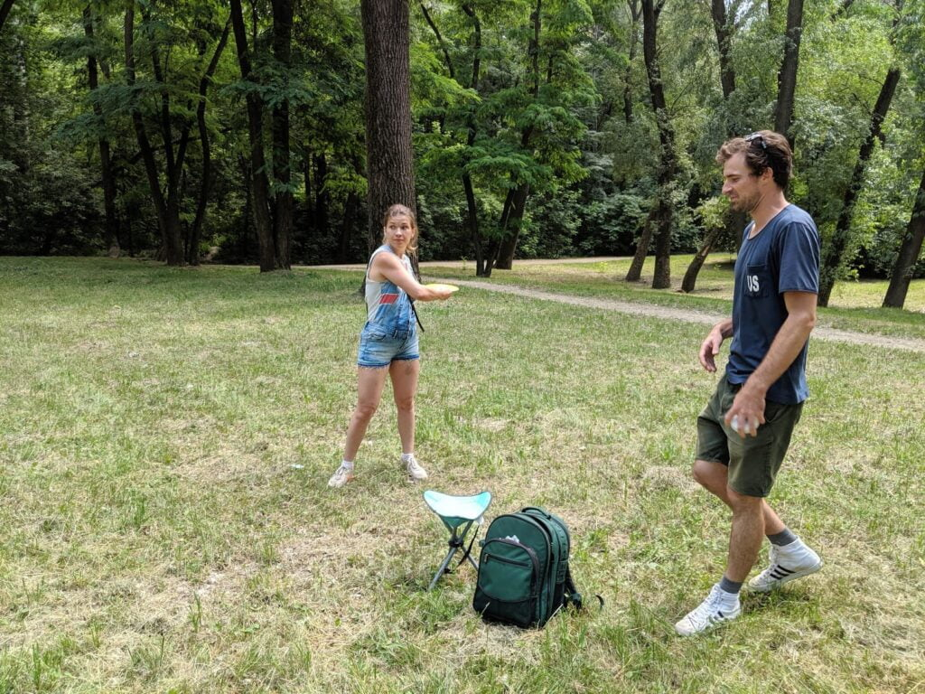 Disc Golf Throwing Techniques