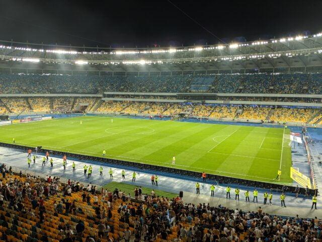 Football at Olympic Stadium Kyiv