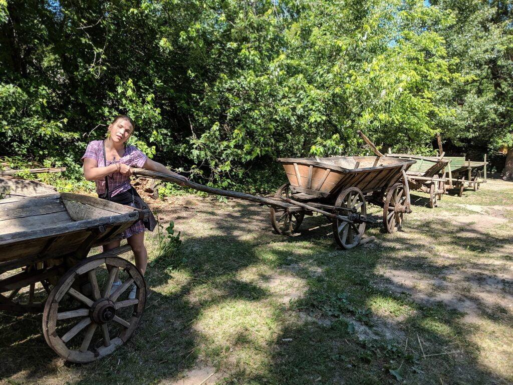 Mamayeva Sloboda Traditional Carts