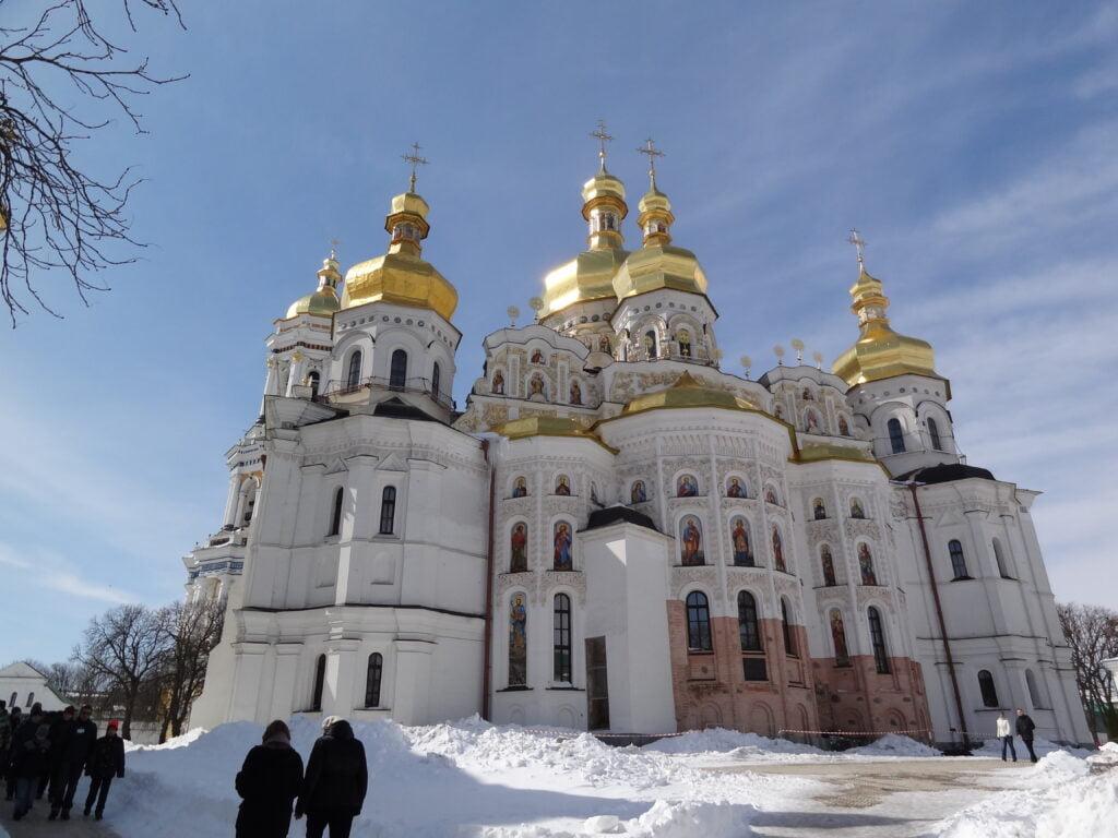 Pechersk Lavra Golden Domes