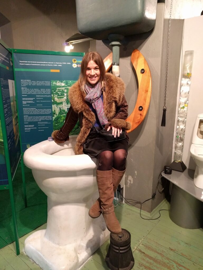 Giant Toilet, Water Museum Kyiv