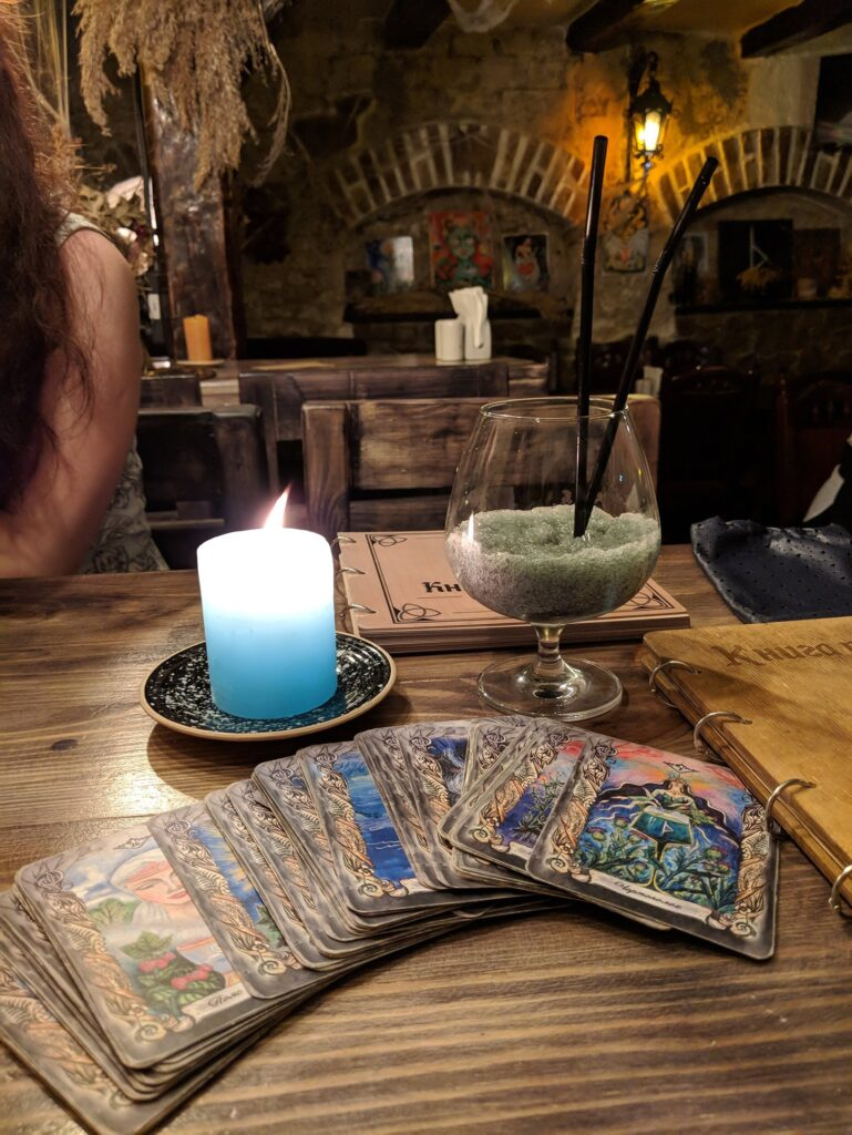 Lysa Gora Witch Bar, Kyiv Tarot Cards